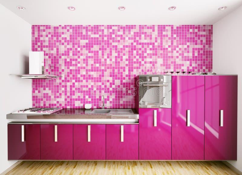 Download Interior Of Modern Kitchen 3d Render Stock Illustration - Image: 16315261