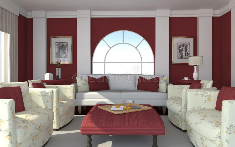 Download Interior Of A Modern Living Room Royalty Free Stock Photography - Image: 29383357