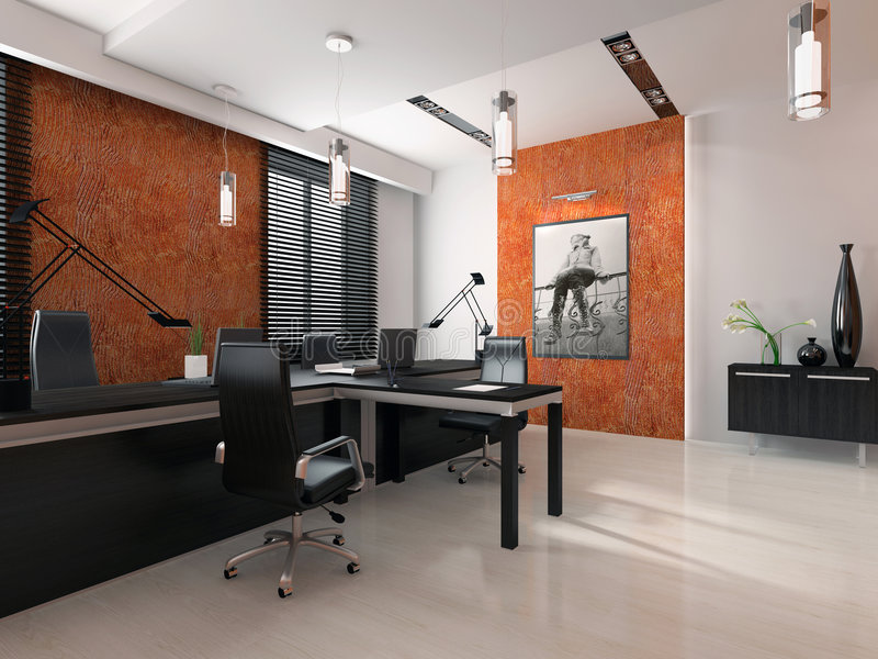Download Interior Of The Modern Office Stock Photography - Image: 3779022