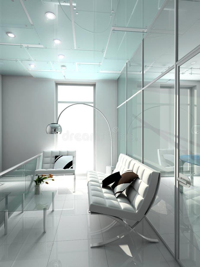 Interior moderno. ilustração do vetor