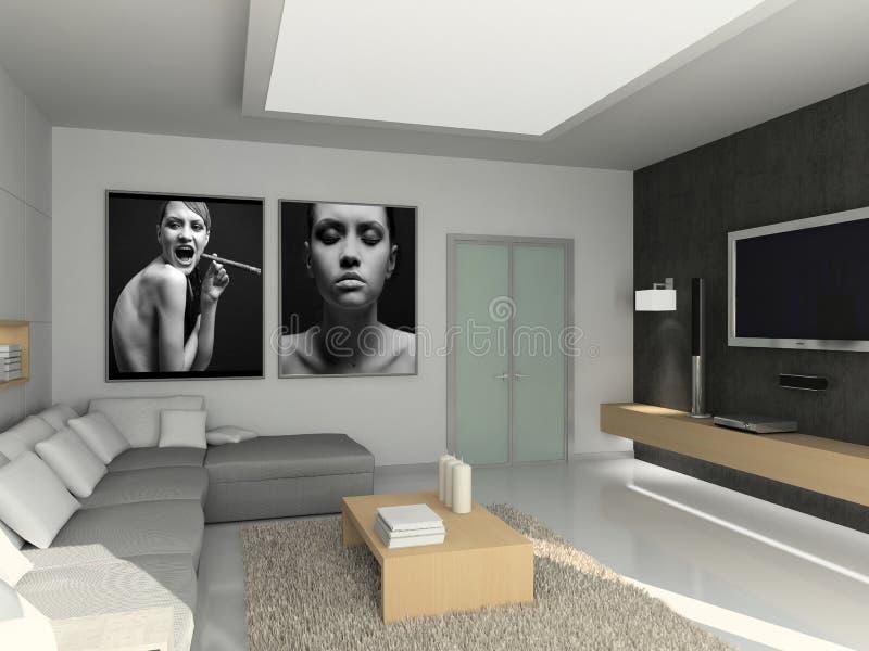 Interior moderno. fotografía de archivo libre de regalías
