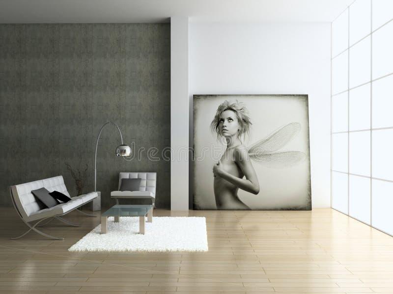 Interior moderno. imagen de archivo libre de regalías