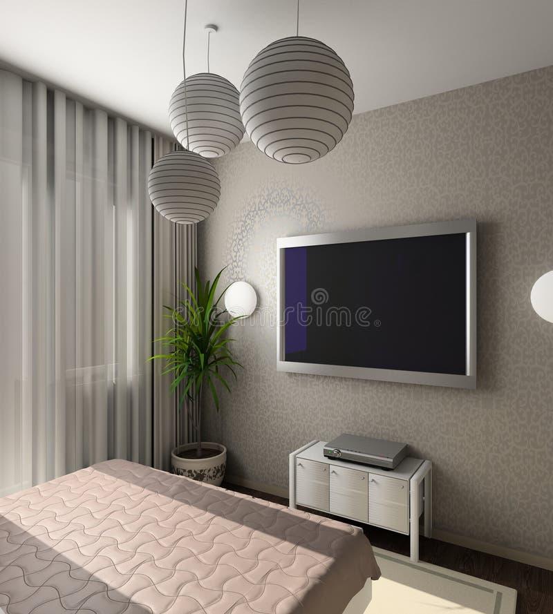 Interior moderno. 3D rinden libre illustration