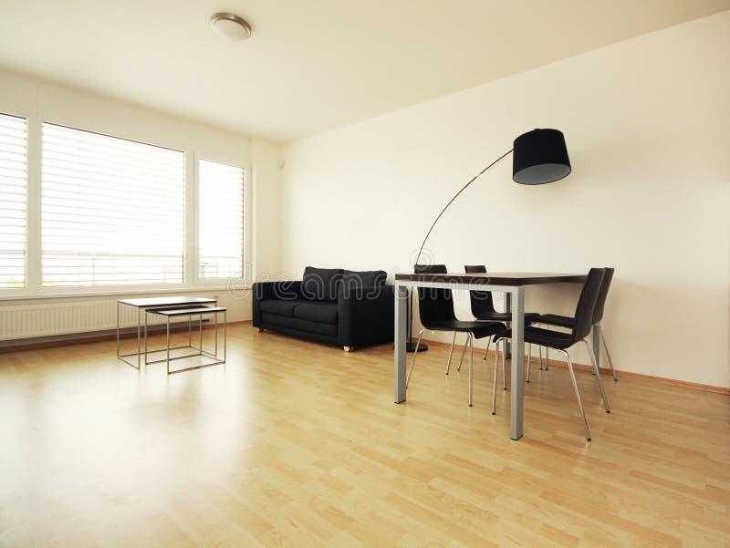 Interior moderno brilhante fotografia de stock