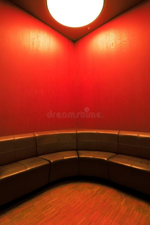 Interior moderno da sala de espera com lugares vazios fotografia de stock royalty free