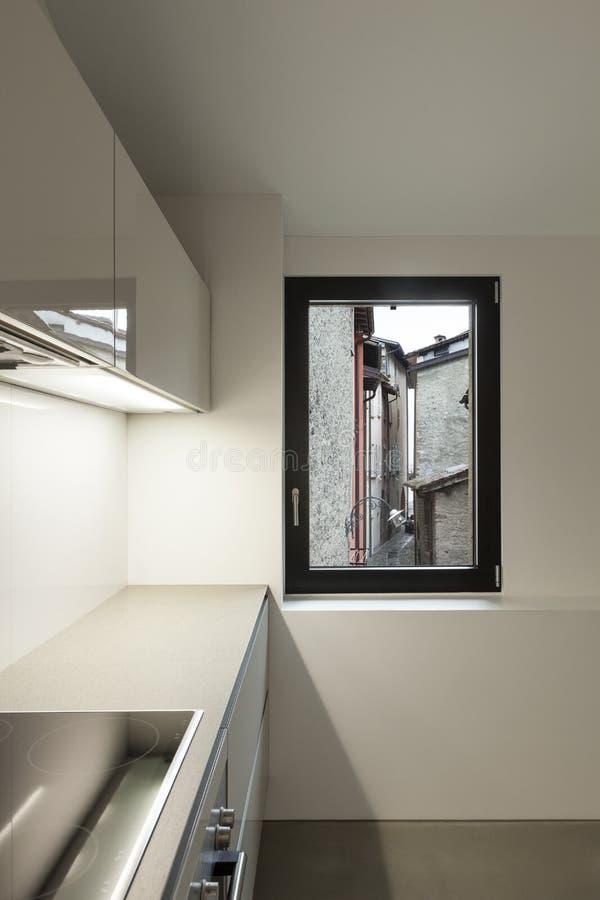 Interior moderno de la casa imagen de archivo libre de regalías