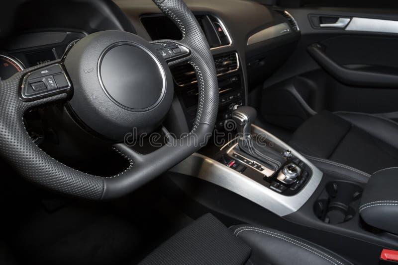 Interior moderno del coche fotos de archivo libres de regalías