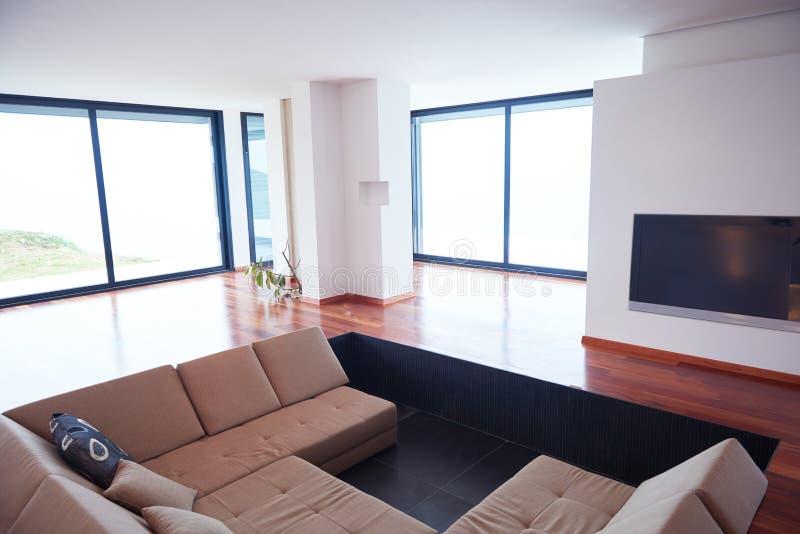 Interior moderno del hogar del apartamento fotos de archivo libres de regalías