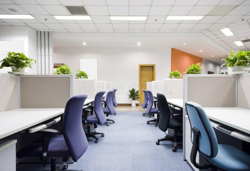 Interior moderno do escritório imagens de stock