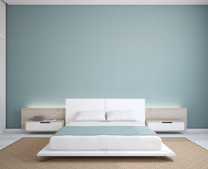 Interior moderno do quarto. ilustração stock
