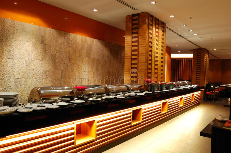 Interior Moderno Do Restaurante Na Ilumina 231 227 O Da Noite