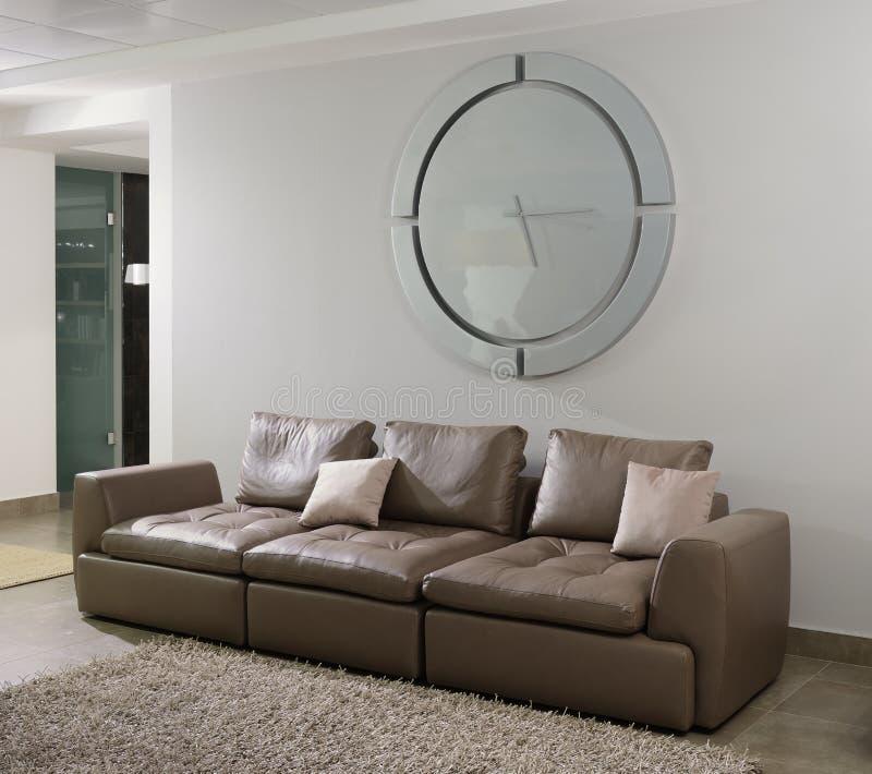 Interior moderno Sala de visitas fotografia de stock royalty free