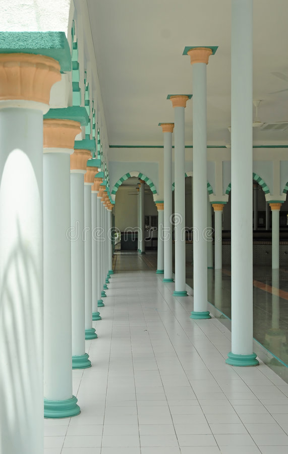 Download Interior Of A Mosque Royalty Free Stock Image - Image: 1332376
