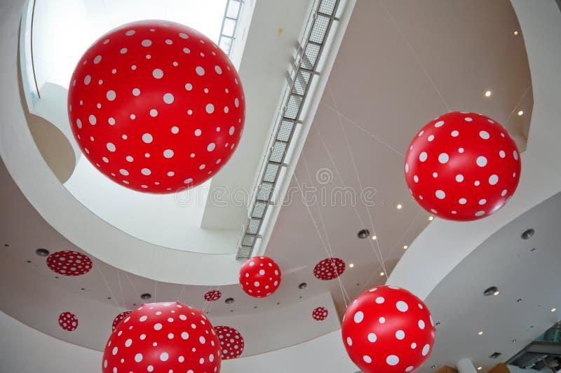 Interior na arte de Banguecoque e no centro da cultura fotografia de stock royalty free