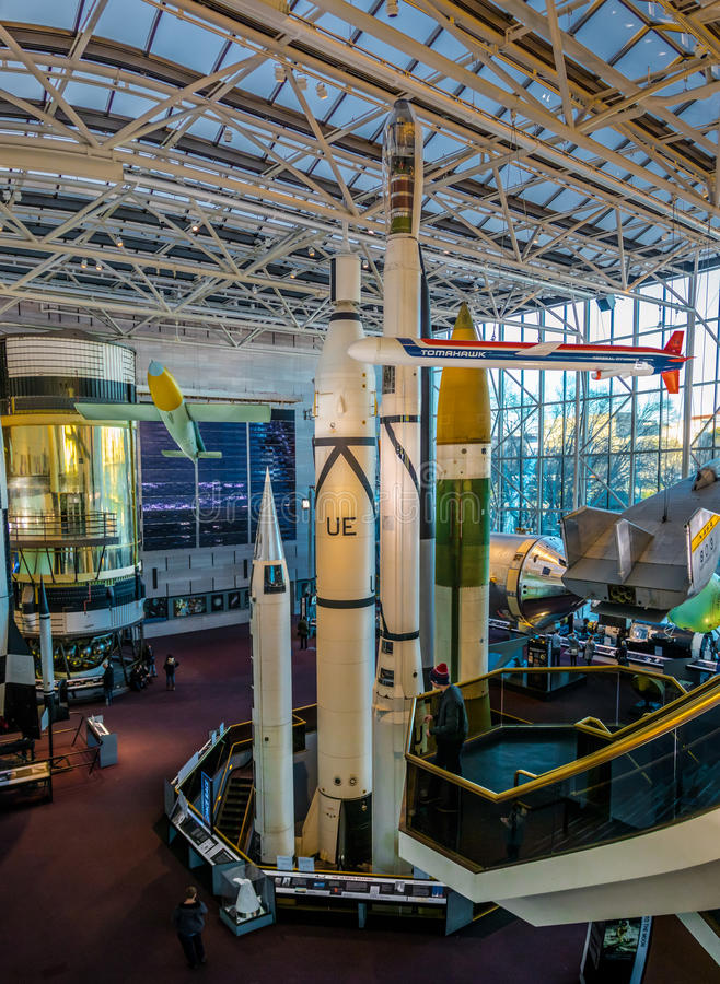 Interior Of The National Air And Space Museum Of The Smithsonian