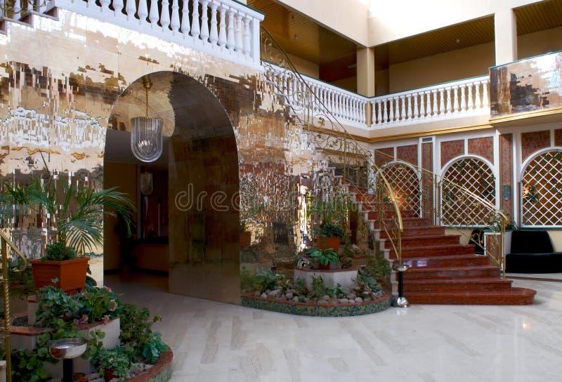 Interior no estilo de oriente foto de stock
