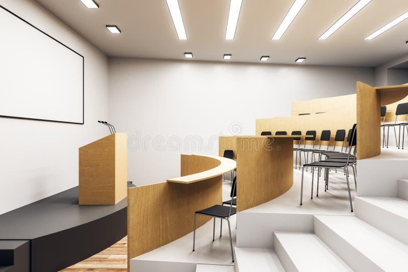 Interior novo do auditório ilustração royalty free
