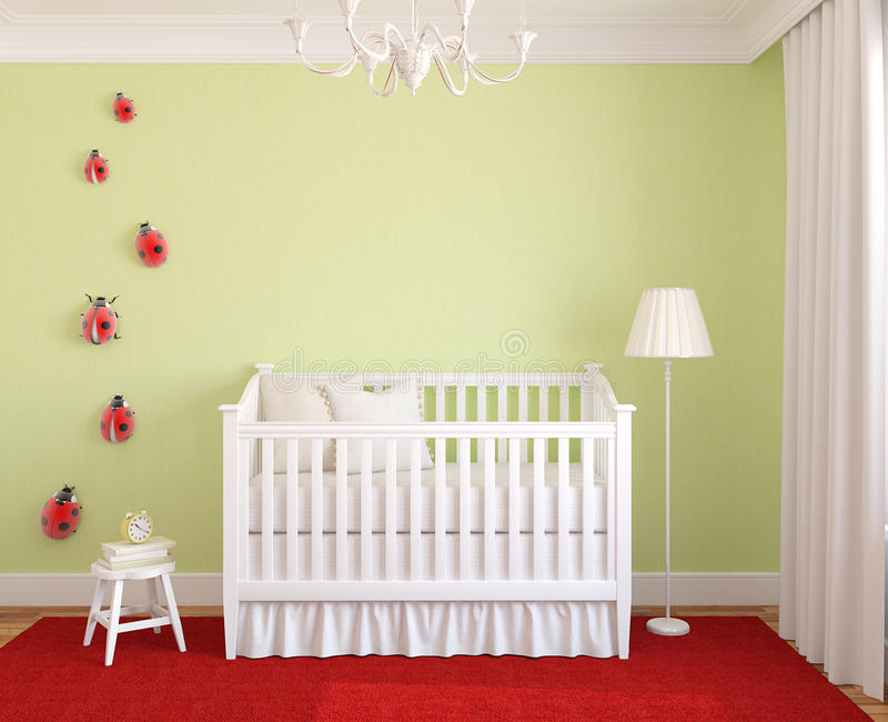 Download Interior of nursery. stock illustration. Image of decor - 22620506