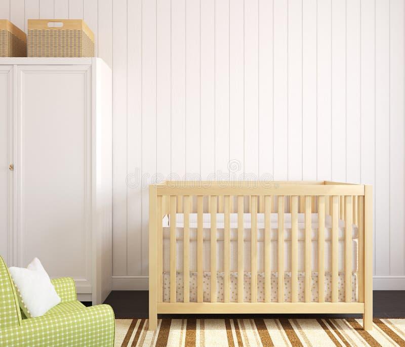 Interior Of Nursery. Royalty Free Stock Photography