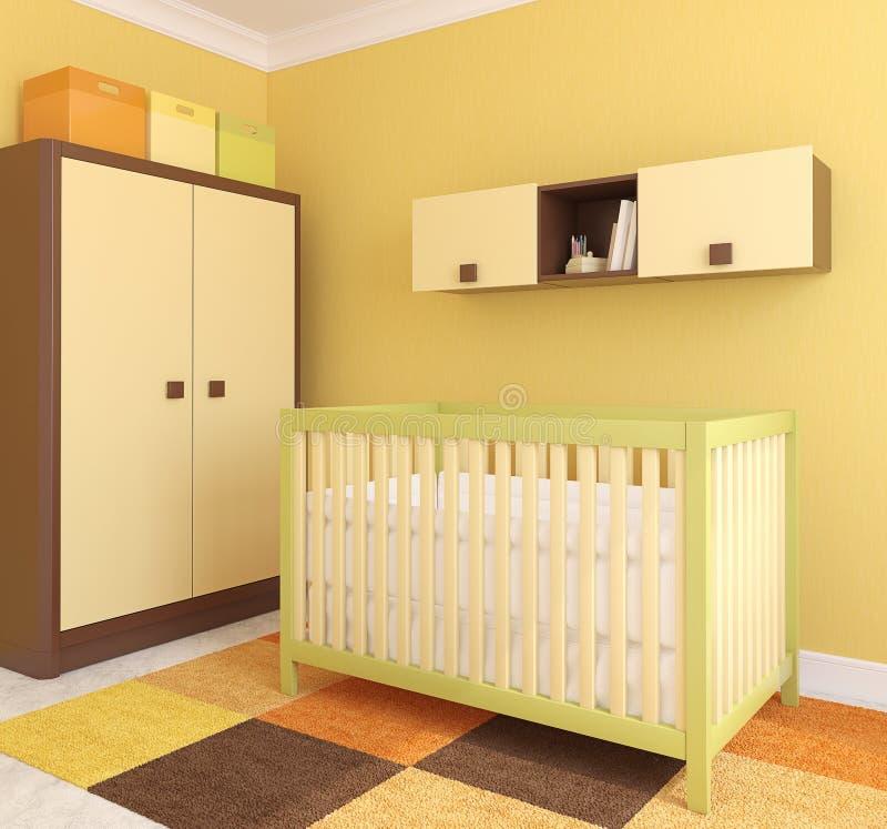 Interior Of Nursery. Stock Image