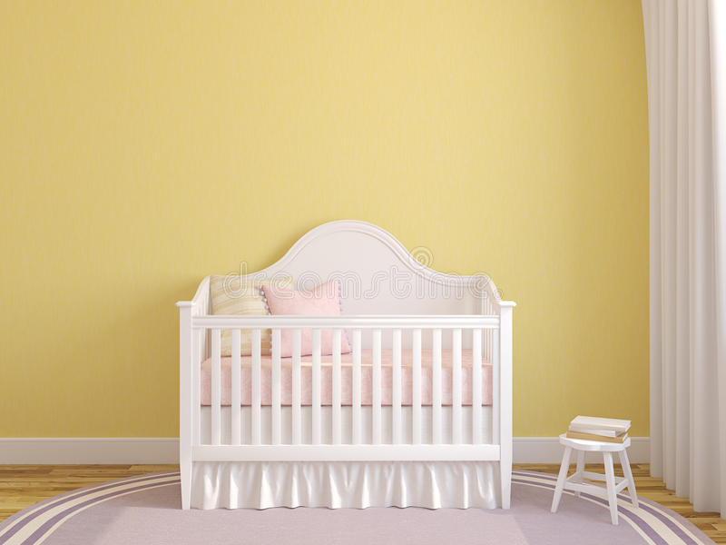 Interior Of Nursery. Royalty Free Stock Photos