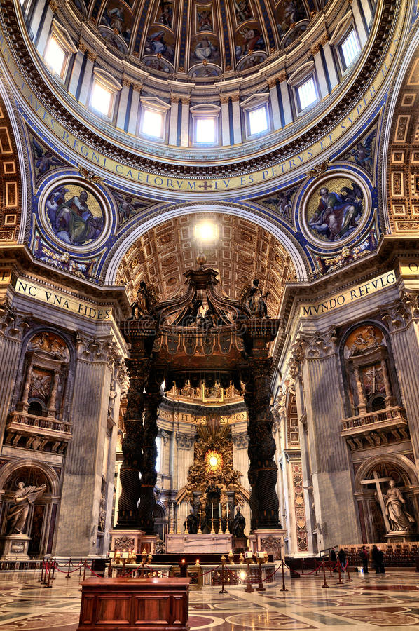 Free Interior Of The Saint Peter, Rome Stock Images - 17579634