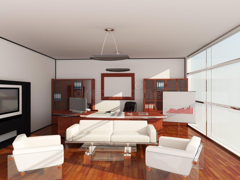 Interior office vector illustration