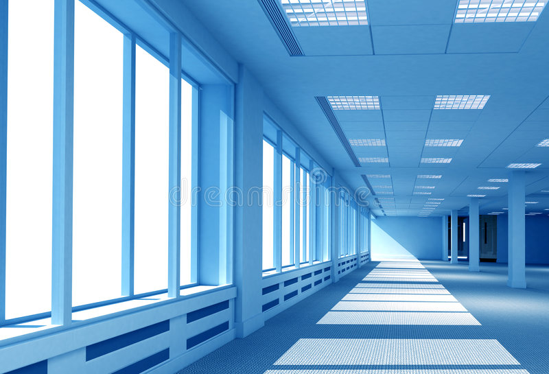 Download Interior office space stock illustration. Image of interior - 2544618