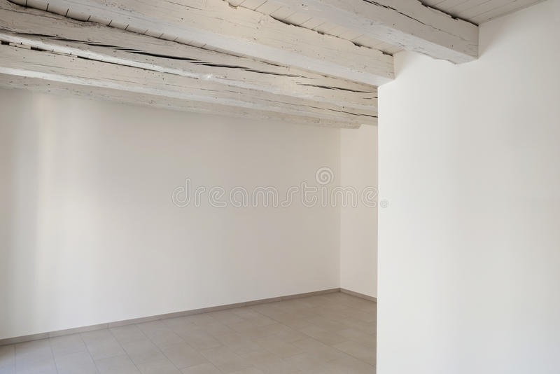 Interior of old house stock photo