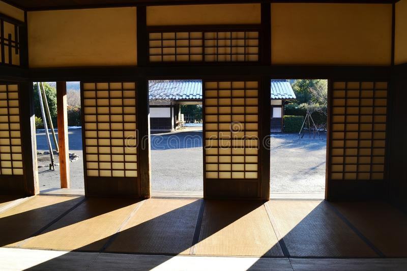 Download Interior Of An Old Japanese House Royalty Free Stock Image - Image: 24307596