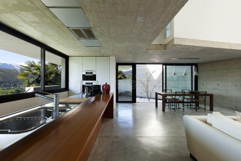 Interior, open space stock photos