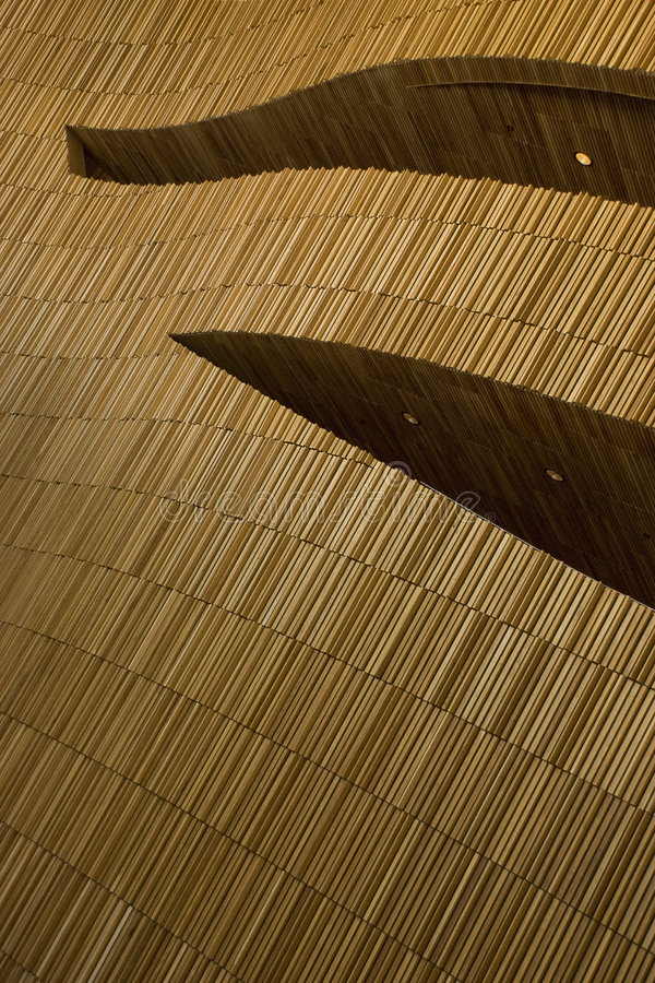 Interior of the Oslo opera stock photo