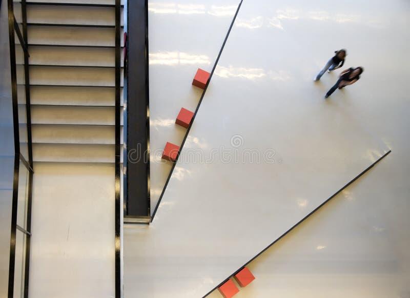 Interior público moderno fotos de stock