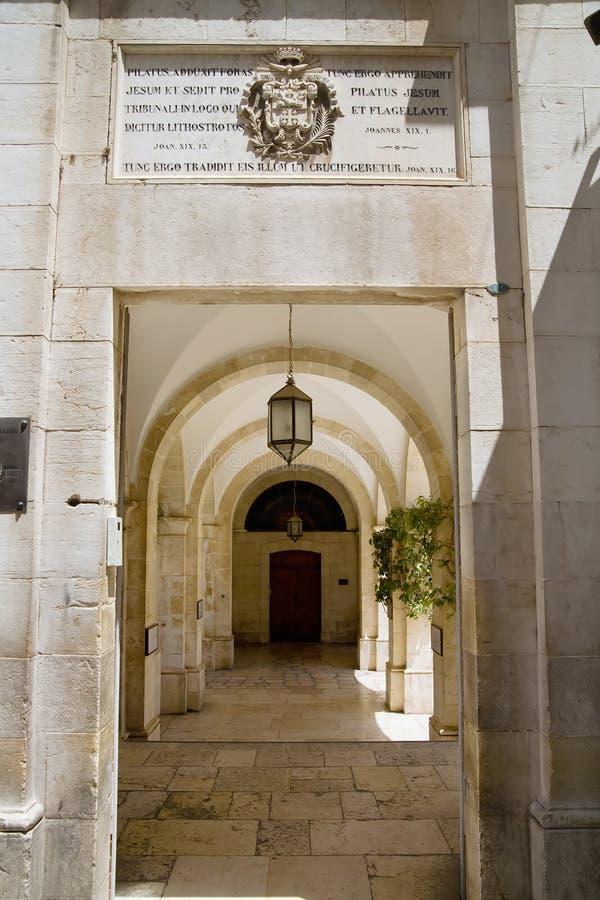 Download The Interior Of The Palace Pontius Pilate, Jerusa Stock Image - Image: 5949685