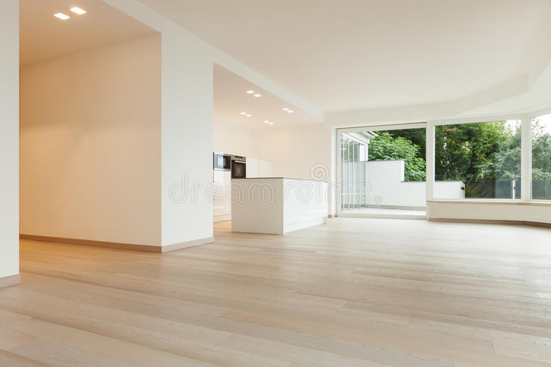 Download Interior, Penthouse Totally Empty Stock Photo - Image: 34539126