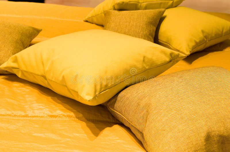 Download Interior. Pillows stock photo. Image of interior, comfy - 9169968