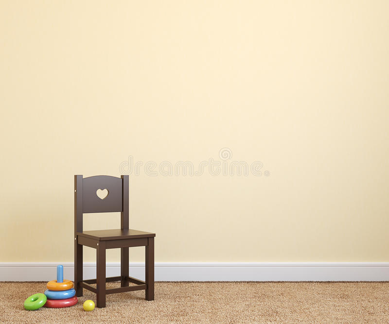 Download Interior of playroom. stock illustration. Image of comfortable - 33721486