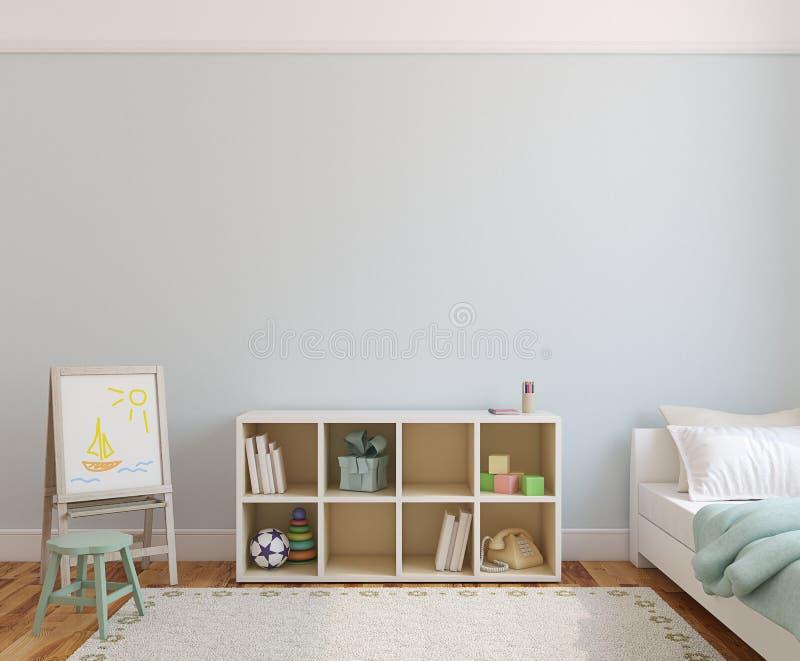 Interior of playroom. stock illustration