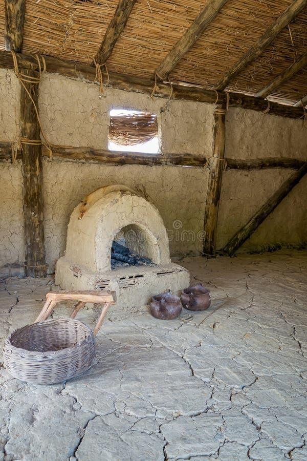 Interior prehistórico imagen de archivo