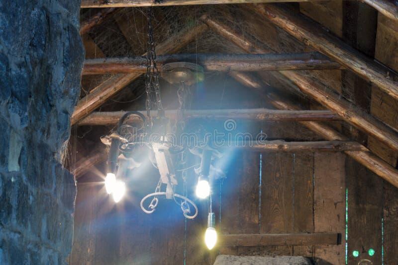 Interior preto velho do smith imagem de stock royalty free
