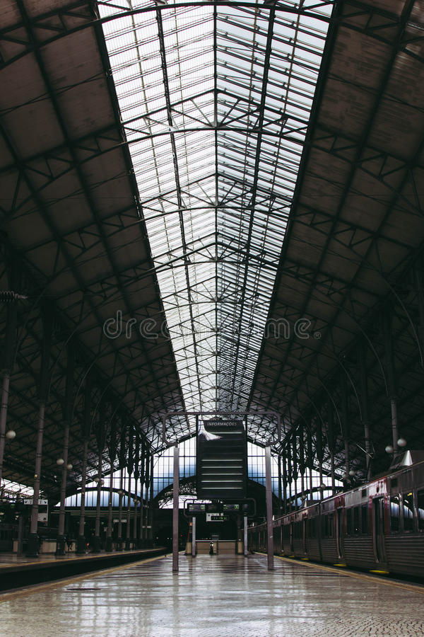 Download Interior Of Railway Station Stock Photo - Image: 83723683