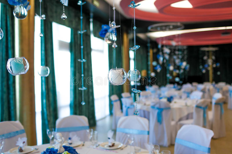 Download Interior Of The Restaurant, Decorated Royalty Free Stock Photos - Image: 34013478