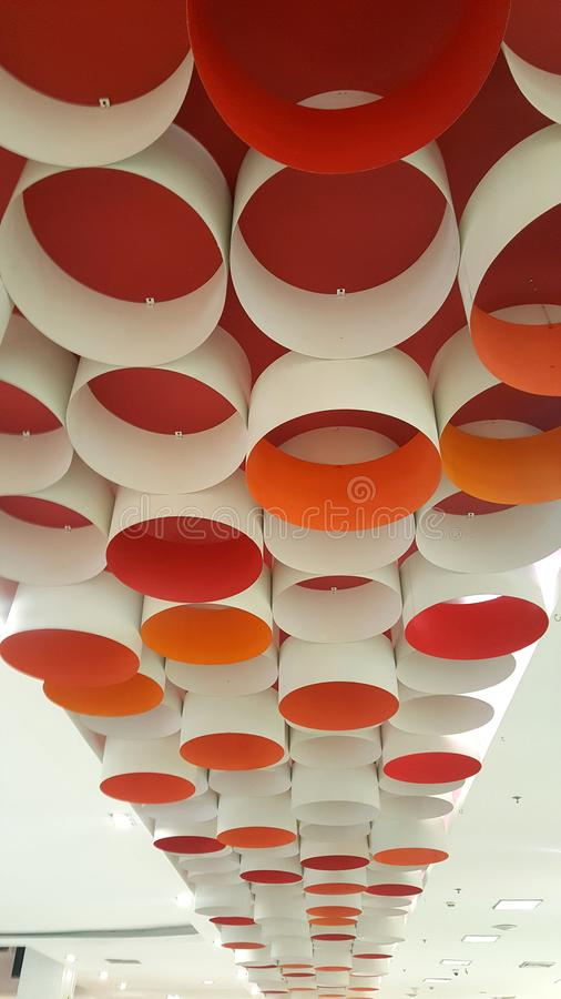 interior roof with the smart design look nice stock images