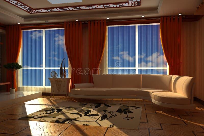 Interior Of Room Stock Image