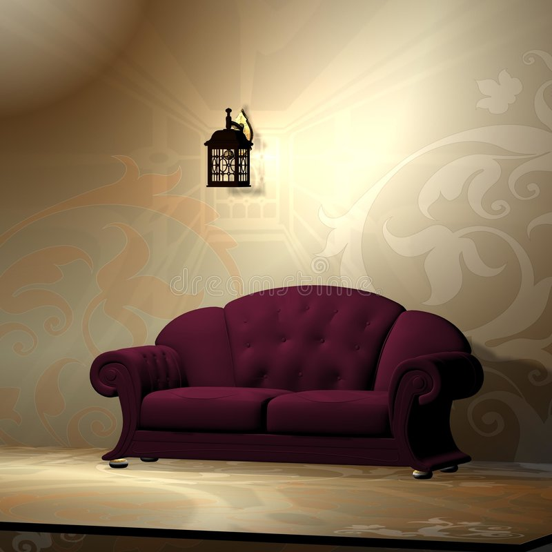 Interior of a room royalty free stock images