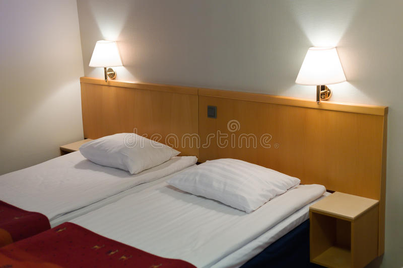 Interior of a room in a hotel royalty free stock photography