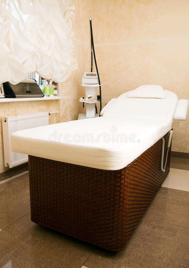 Interior of a room for massage royalty free stock photos