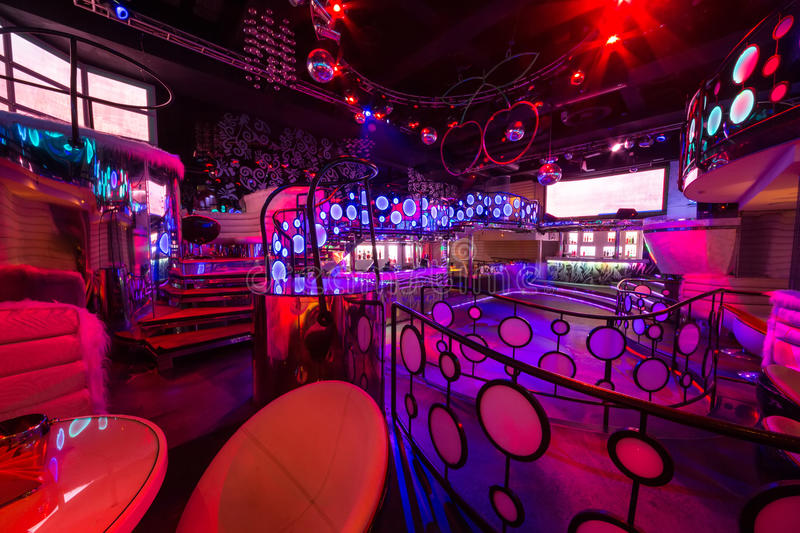 The Interior Of The Rooms Of The Nightclub Pacha Editorial Image ...