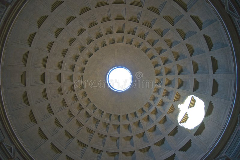 Interior of rotunda royalty free stock images