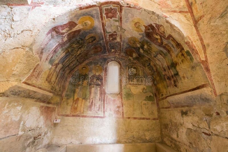 Interior of Saint Nicholas Church royalty free stock image
